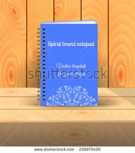 stock-vector-spiral-bound-notepad-vector-template-easy-to-place-your-image-on-the-cover-presentation-on-the-228970420